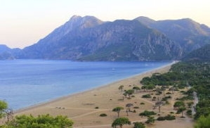 Olympos and Çıralı, two relatively unspoiled beach resorts